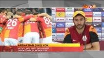 FUTBOL Beşiktaş Maç Sonu Açıklamalar Drogba, Sneijder, Veysel Sarı