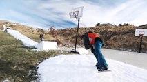 Snowboard Park De Ouf Fait maison. Dingue...