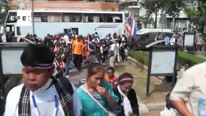 Polícia tailandesa lança Operação Valentim contra manifestantes