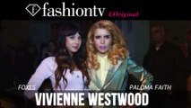 Vivienne Westwood Red Label Fall/Winter 2014-15 Front Row   London Fashion Week LFW   FashionTV