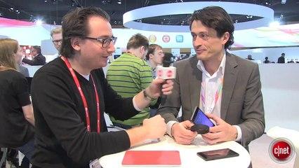 MWC 2014 - Sony Smartband, bracelet connecté