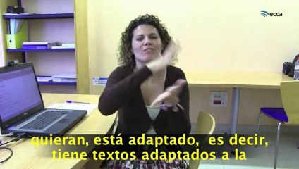 Testimonio de Beatriz Medina Déniz, persona con sordera profunda y colaboradora en este proyecto