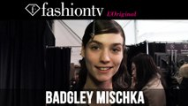 Badgley Mischka Fall/Winter 2014-15 Hair & Make-Up | New York Fashion Week NYFW | FashionTV