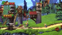 Donkey Kong Country: TF. Trompas tremendas  2-3 - Gameplay - 100% puzzles y letras