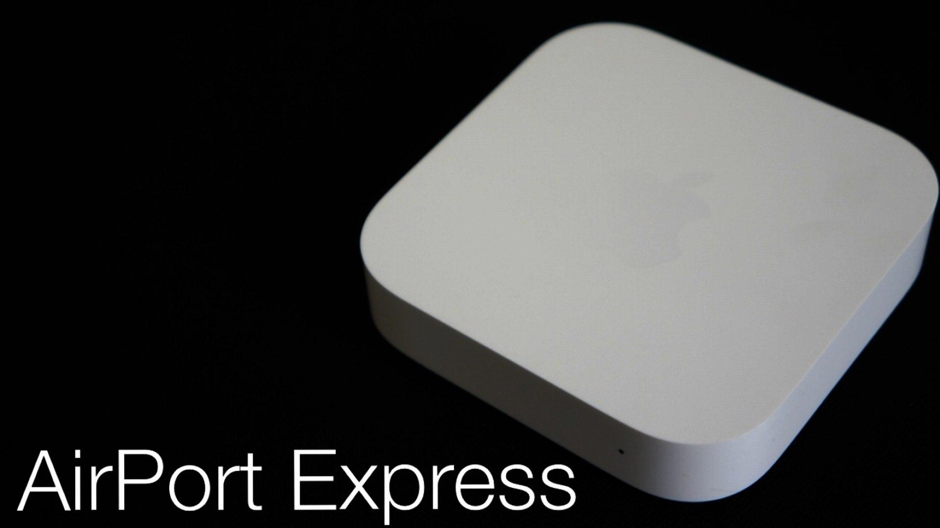 Prise en main de la borne AirPort Express
