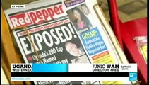 Africa News - Ugandan tabloid 'outs' hundreds of alleged homosexuals