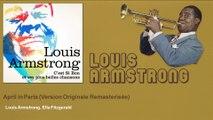 Louis Armstrong, Ella Fitzgerald - April in Paris