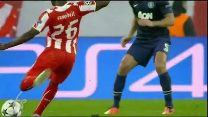 olympiacos vs manchester united 2 0 all goals hd olympiakos 2 0 manchester united 25 02 2014