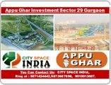 Appu Ghar:::9910013007:::Food Court///retail shops gurgaon sector 29