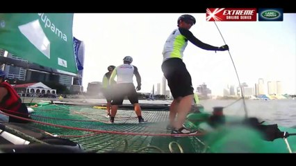Replay Singapore_ Day Two - Extreme Sailing Series™ 2014