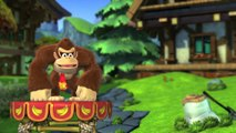 Donkey Kong Country: TF. Aserradero majadero 2-4 - Gameplay - 100% puzzles,letras y salida secreta