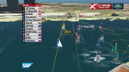 Replay Singapore : Day Four - Extreme Sailing Series™ 2014