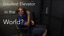 Crazy Freight Elevator at Randolph Hall, Virginia Tech - The Elevator Show