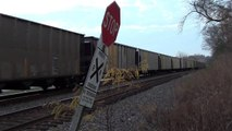 Union Pacific Coal Train Passing a Private Crossing near Jefferson City, MO (for Dieselducy)