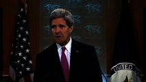 Kerry: Syria led human rights violations in 2013