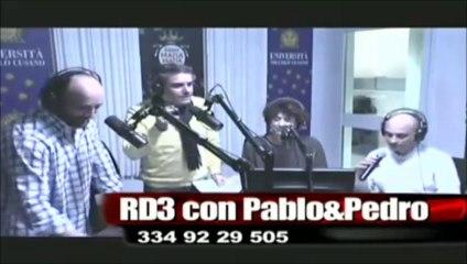 RADIO MANA' LIVE TV : RD3 con PABLO&PEDRO  mercoledi 26
