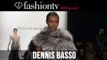 Anastasia Ivanova at Dennis Basso Fall/Winter 2014-15 | New York Fashion Week NYFW | FashionTV