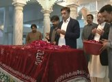 PPP Patron-in-Chief Bilawal Bhutto Zardari visits Garhi Khuda Bux, Larkana-25 February 2014