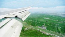 FSX KLM Boeing 747 Landing Amsterdam Schiphol ( HD )