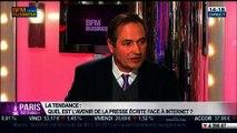 La tendance du moment: Quel est l'avenir de la presse écrite face à internet ?, dans Paris est à vous - 26/02