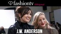 Daisy Lowe at J.W. Anderson Fall/Winter 2014-15 Front Row   London Fashion Week LFW   FashionTV