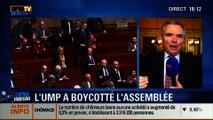 BFM Story: Les députés UMP boycottent les questions au gouvernement à l'Assemblée nationale - 26/02