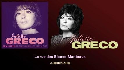 Juliette Gréco - La rue des Blancs-Manteaux