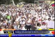 Noticias de las 7: ministro venezolano y su polémica frase sobre la crisis en su país (2/2)
