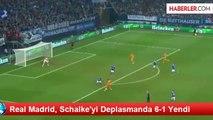 Real Madrid, Schalke'yi Deplasmanda Gole Boğdu! Schalke 1 Real Madrid 6 Golleri İzle!