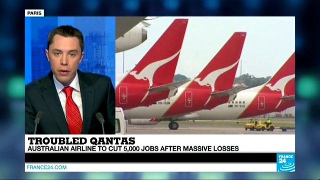 BUSINESS DAILY - Qantas slashes more jobs as losses mount