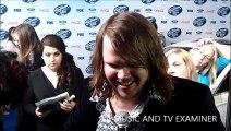American Idol: Season 13 -- Caleb Johnson at Top 13 Finalists Party