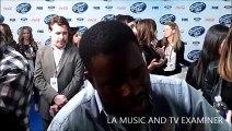 American Idol: Season 13 -- CJ Harris at Top 13 Finalists Party