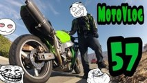PT.2 - Pulled Over By Police,Many Crashes,And Mini Moto Fun (MotoVlog #57)
