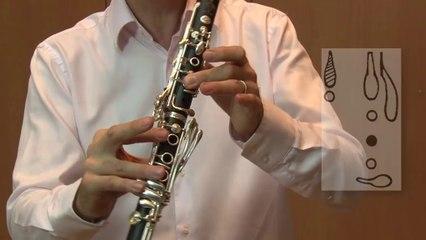 Les doigtés dans le grand répertoire de la clarinette par Franck Amet