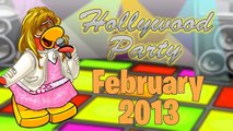 Club Penguin- Hollywood Party- February Party 2013