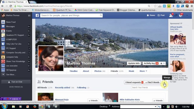 How to Hide Facebook Friends List from Public