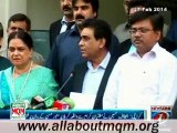 JI Amir Munawar Hasan has insulted the Prophet's (SAW) grandson by comparing him with Yazeed: Altaf Hussain