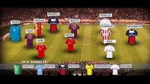 El once ideal de la ida de los octavos de final de la Liga de Campeones