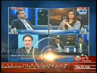 News Night with Neelum Nawab - 27th February 2014