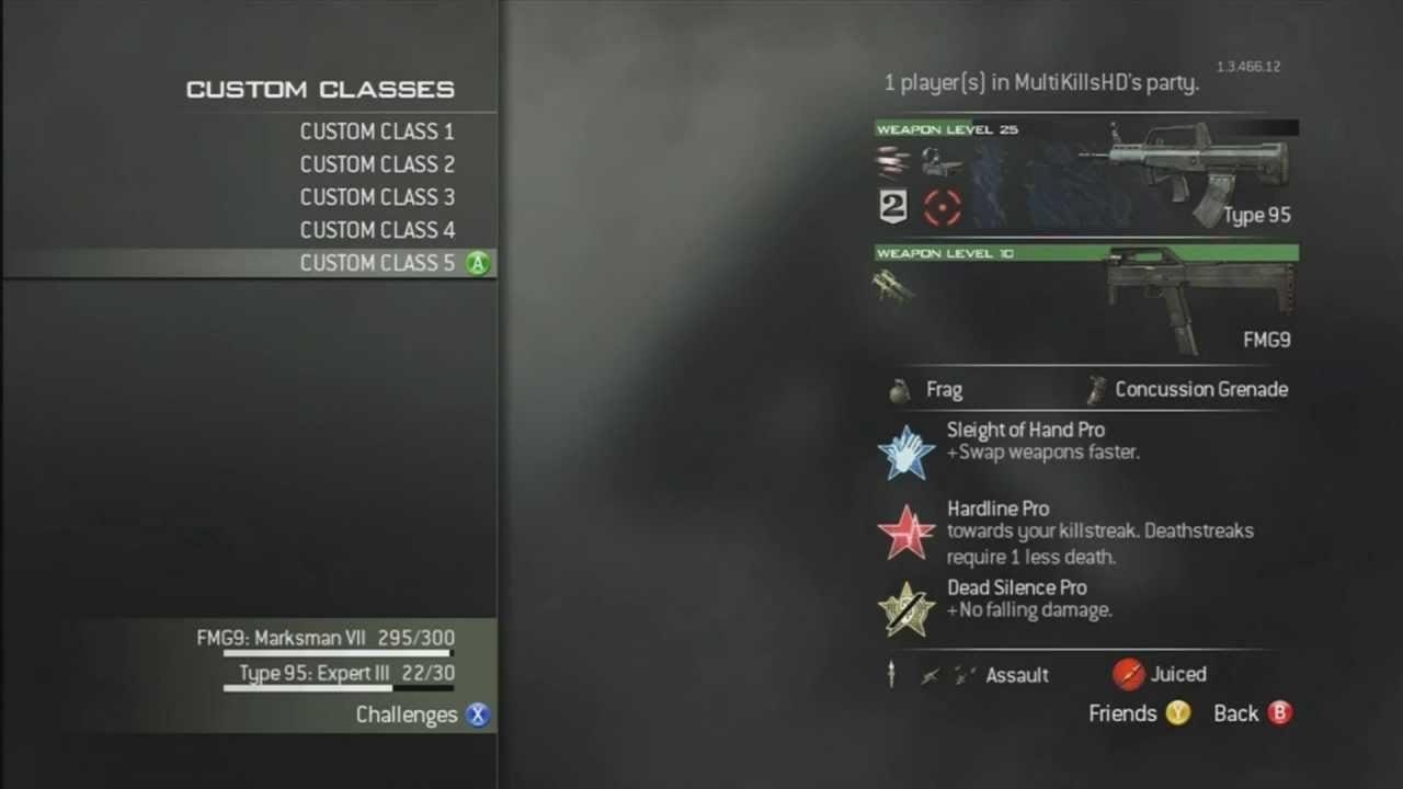 Modern Warfare 3 Custom Classes Setup