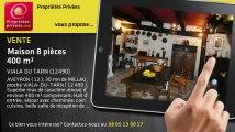 A vendre - maison - VIALA DU TARN (12490) - 8 pièces - 400m²