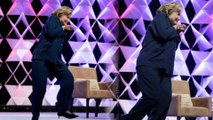 Hillary Rodham Clinton Dodges Rogue Shoe Thrower
