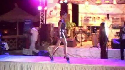 Seynabou Diallo Miss Saint Louis 1er Passage tenue de ville