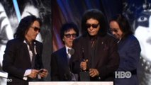 "KISS inducted into Hall of Fame, Depp premieres ""Transcendence"""