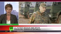 US missiles & F16 jets may remain on Jordan-Syria border after drills