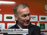 (J32) Laval 2-1 Troyes, la réaction de JM Furlan