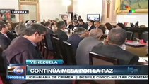 Diálogo de derecha e izquierda en Miraflores; Maduro organiza la paz