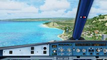 FSX Air New Zealand Aerosoft Airbus A320 YBBN-NZAA - video