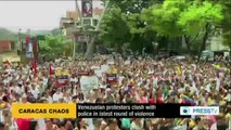 Venezuelan protesters clash with police in latest round of violence