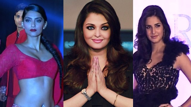 Aishwarya Rai, Katrina Kaif, Sonam Kapoor Strike Their Favourite Pose – Hot Or Not ?